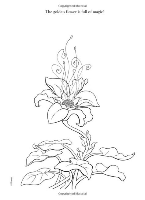 disney tangled rapunzel coloring pages tangled