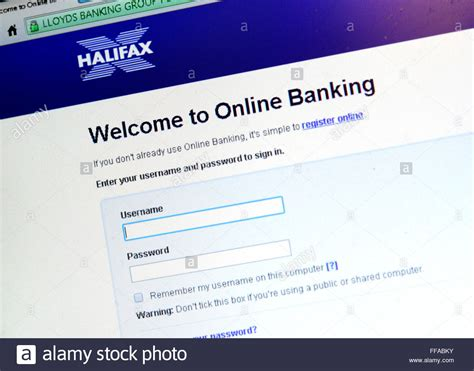 reset halifax online banking a photograph of the login page on the halifax online