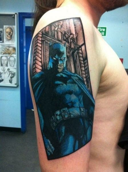 batman tattoo awesome batman tattoos for men ideas and designs for guys