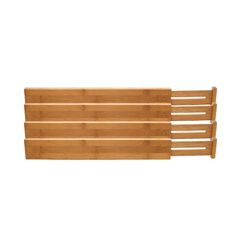 Kitchen Drawer Dividers by Kitchen Drawer Dividers Set Of 4 The Edit