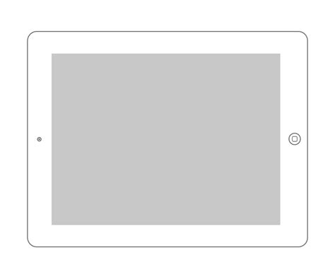 ipad layout vector 16 horizontal ipad template psd images ipad mini