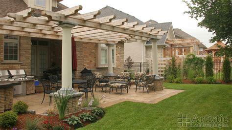 Landscape Architecture Kitchener Waterloo Courtyard Designs Ideas Artistic Landscaping Inc