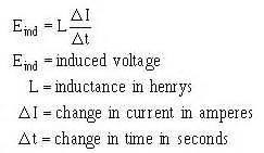 inductance en henry inductance