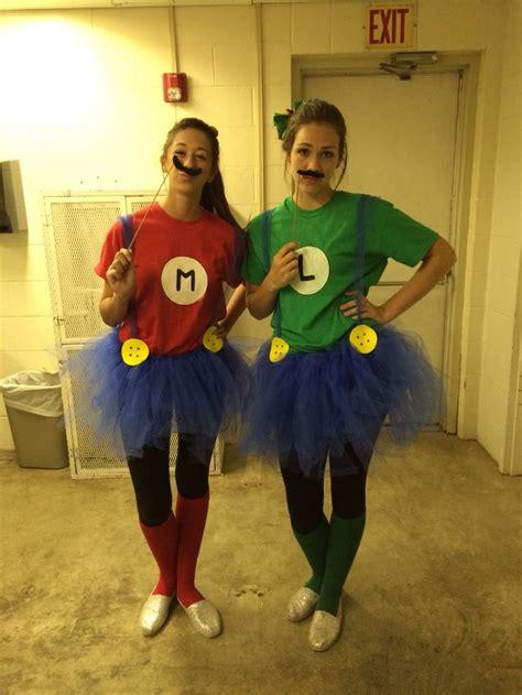 mario  luigi halloween costume  group