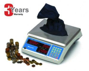 salter brecknell b140 brecknell electronic 60 lb coin parts counting scale salter brecknell heavy duty bulk coin scales