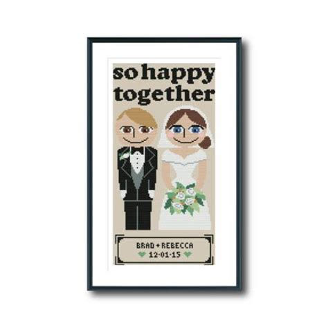 So Happy Together by So Happy Together Cross Stitch Pattern Spruce Craft Co