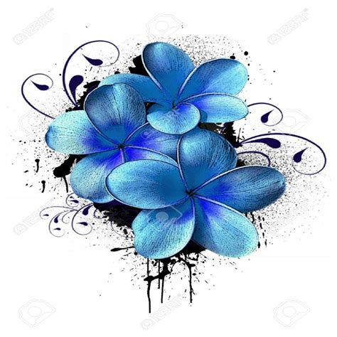 a color flores para dibujar a color