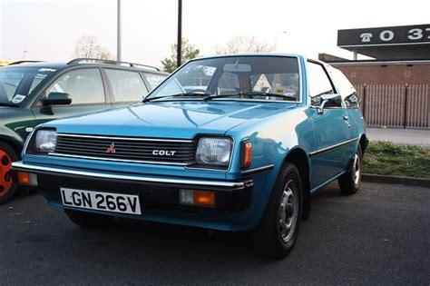 mitsubishi hatchback 1980 flickriver trigger s retro road tests s photos tagged