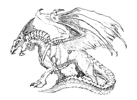 coloring pages of scary dragons scary dragon dragons coloring pages for adults justcolor