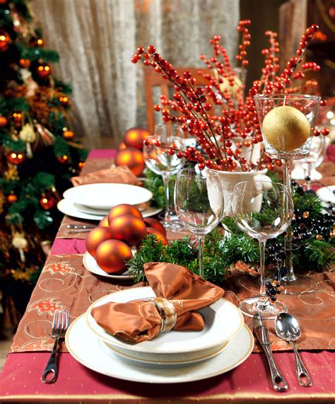 christmas dinner table settings christmas dinner table quotes quotesgram
