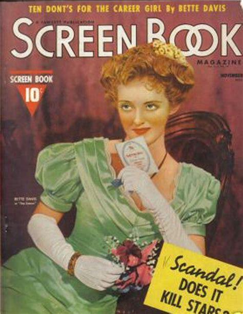 bette davis cover vintage magazine cover bette davis photo 4266608 fanpop