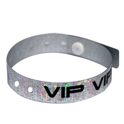 Handmade Wristbands - custom plastic wristbands holographic wristbands in bulk