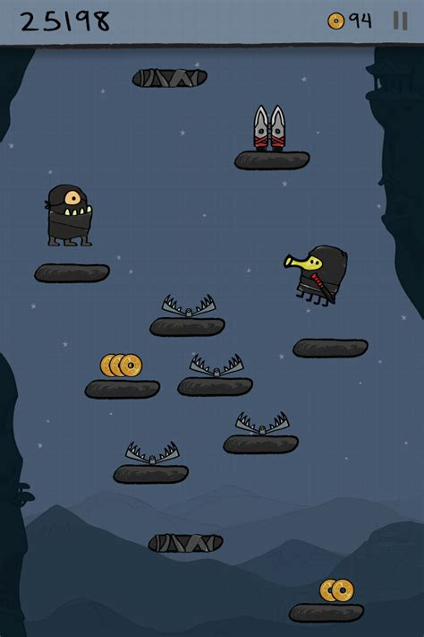 doodle jump start canon doodle jump screenshots monstervine