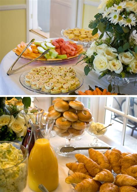 brunch table bridal shower brunch food table random stuff pinterest