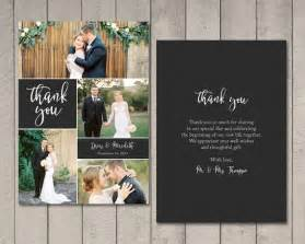 photo wedding thank you cards the 25 best wedding thank you cards ideas on
