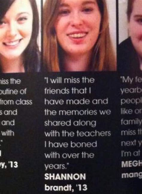 35 funny yearbook quotes of uninspired seniors team