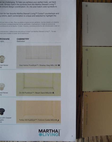 martha stewart paint that matches cupboards