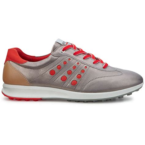 spikeless golf shoes ecco womens evo one hydromax waterproof spikeless