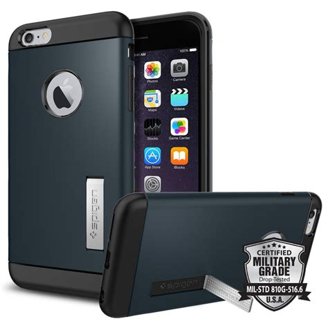 Hardcase Spigen Stand Iphone 6 4 7 iphone 6 plus slim armor iphone 6 plus apple
