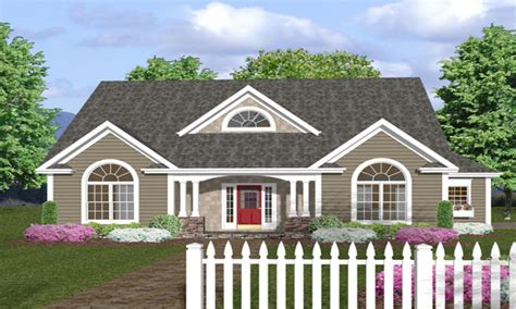 house plans with wrap around porches one story house plans with front porches one story house
