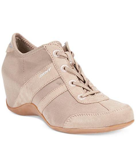 dkny wedge sneakers shoes macy s