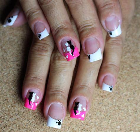 imagenes de uñas decoradas con gatos decoraci 243 n de u 241 as gatos cat nails youtube