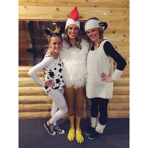 Handmade Sheep Costume - mcdonald s farm cow costume chicken costume sheep