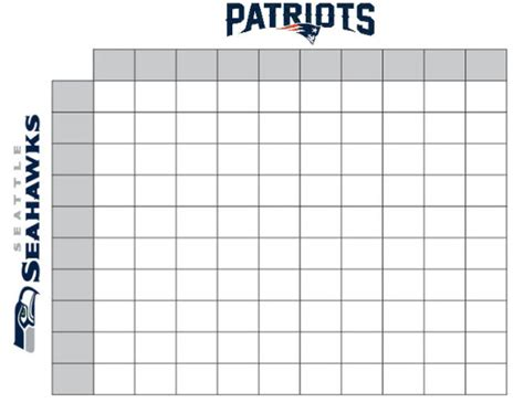 search results for super bowl squares blank calendar 2015