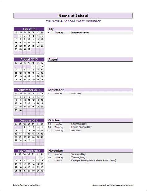 Calendar Update Event Best 20 Event Calendar Template Ideas On Cool