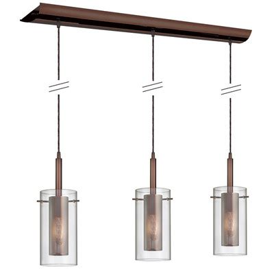 Kitchen Island Lighting Pendants by Dainolite Pendant Series 3 Light Kitchen Island Pendant