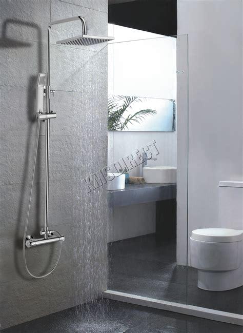 foxhunter modern bathroom mixer shower set