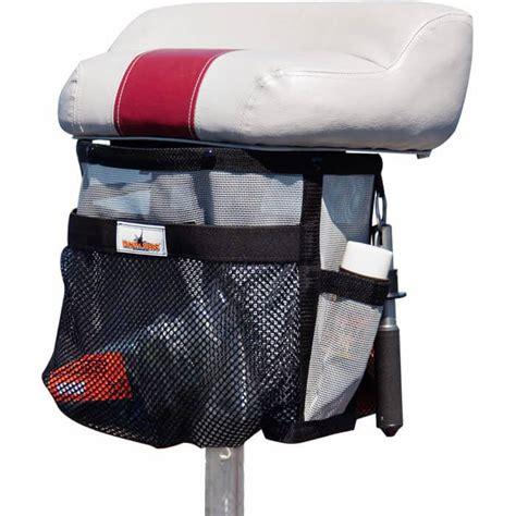 boat seat pedestal caddy pedestal seat storage bag tackle webs