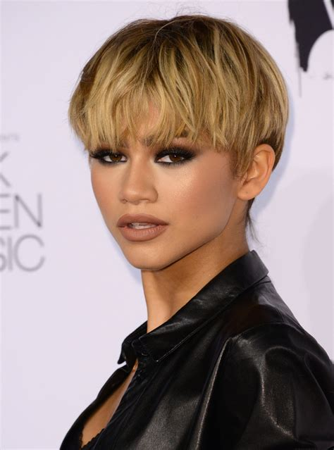 hairstyles haircuts pictures 10 ways to rock short hair like a celebrity zendaya