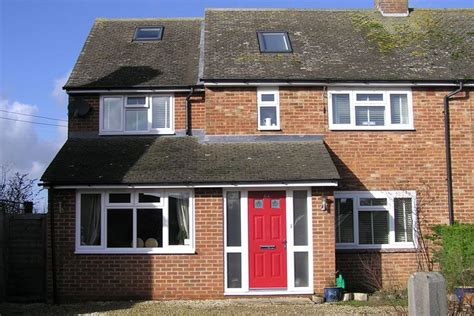 side extension semi detached house aylesbury house extension by lifestyle construction after image houses uk