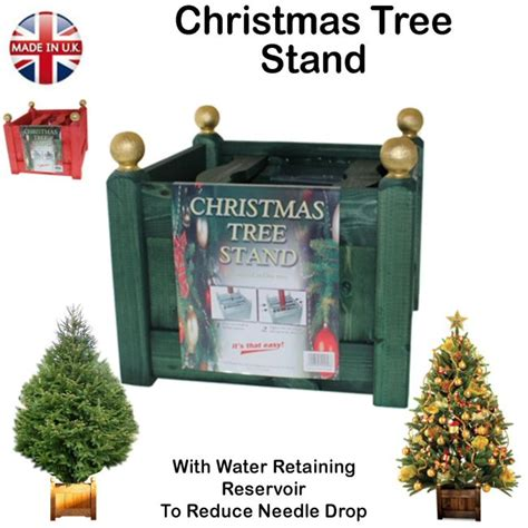 christmas tree stand with water reservoir birstall