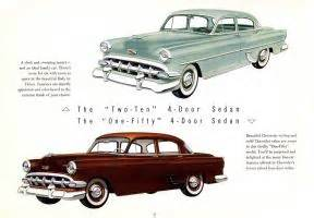 Bill Page Chevrolet 1954 Chevrolet Brochure