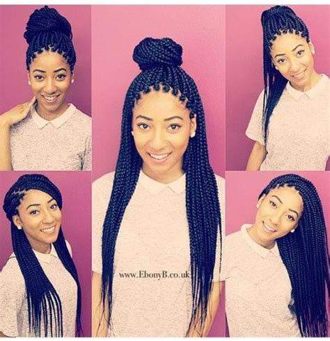pics of styles you cab wear with braids with thinning edges 50 ghana braids styles herinterest com