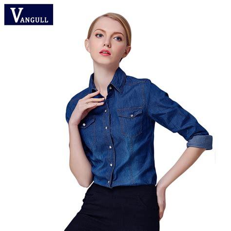 new year shirt 2016 2016 new denim shirt sleeve turn collar