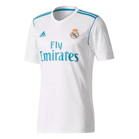 Jersey Real Madrid Home New 2017 2018 1 Set Celana Kaos Kaki real madrid home lfp jersey 2017 2018