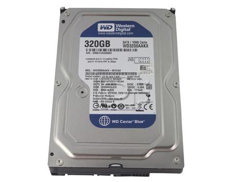 Hardisk 320gb Sata western digital caviar blue wd3200aakx sata disk drive