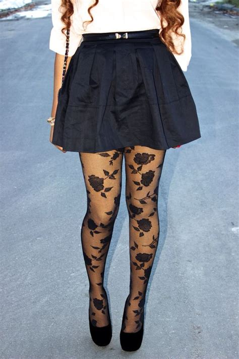 winter pattern leggings outfits rose tights patterned tights outfit ideas and winter