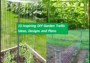Building A Garden Trellis 15 inspiring diy garden trellis plans designs and ideas the self