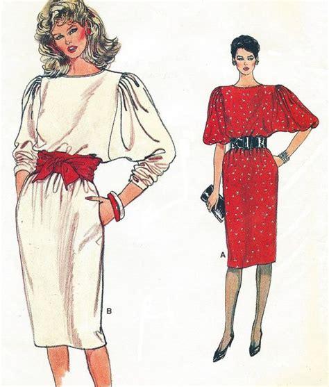 vintage pattern 1994 cocoon jacket batwing sleeve dolman pattern 80s womens dolman sleeve dress pullover vogue sewing