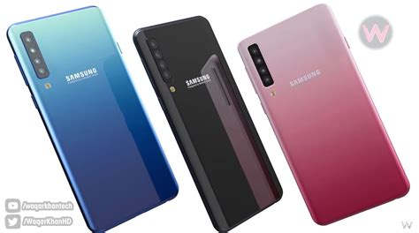 Samsung A10 Plus by Samsung Galaxy A10 Rendered As Follow Up To The 4 Galaxy A9 Concept Phones