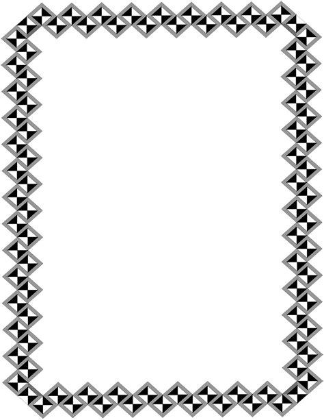 lettere arabe stilizzate page border clipart cliparts co