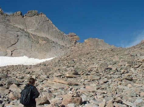 Longs Climbing Longs Peak