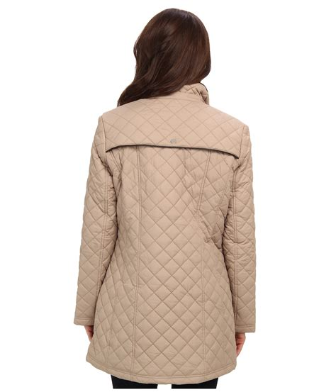 larry levine quilted barn jacket w clothing