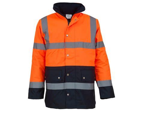 Navy Yoco Jacket yoko hi vis two tone motorway jacket hvp302 3m