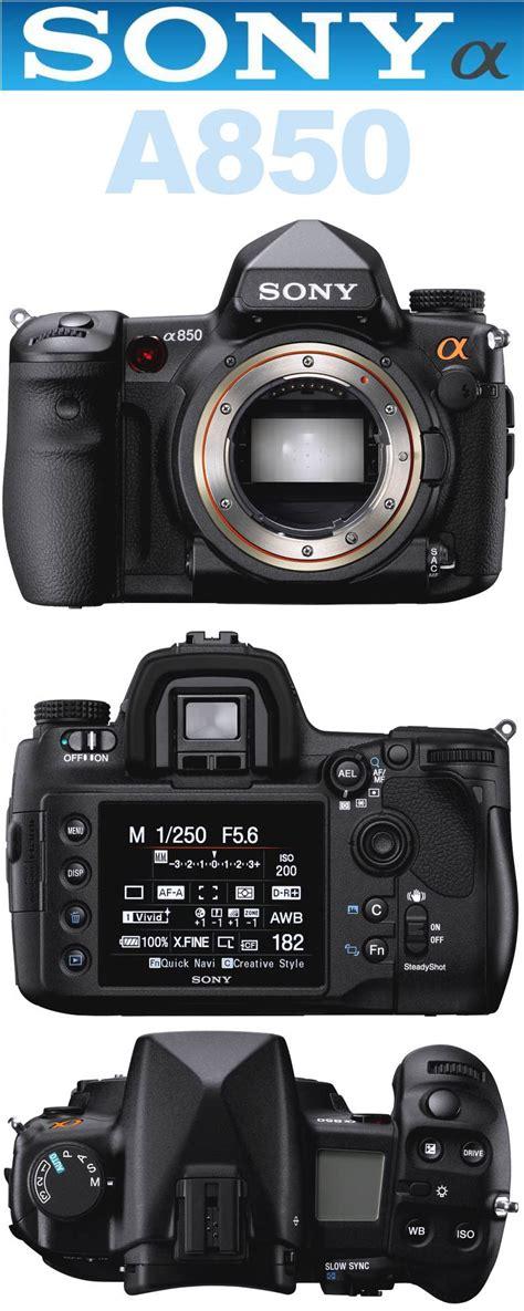 Kamera Dslr Sony A700 sony a850 eine der g 252 nstigsten vollformat d slr kameras auf dem markt