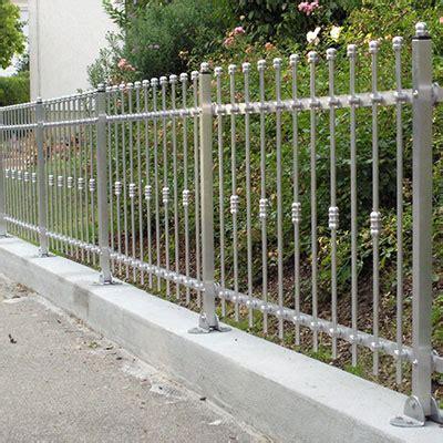 günstige aluminium haustüren design eisen zaun